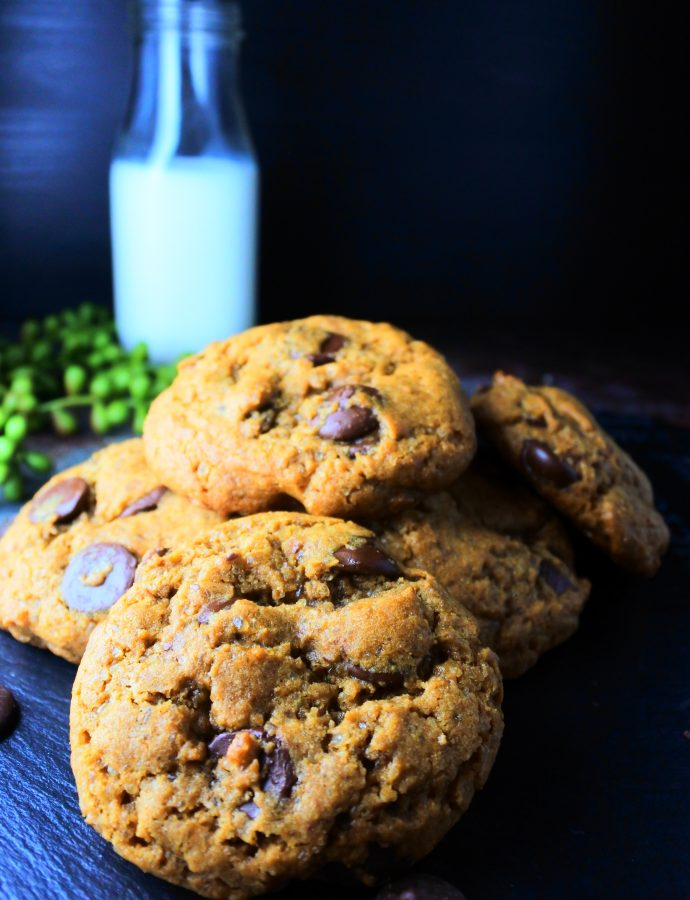 Classic Chocolate Chip Cookies (100% Whole Wheat)
