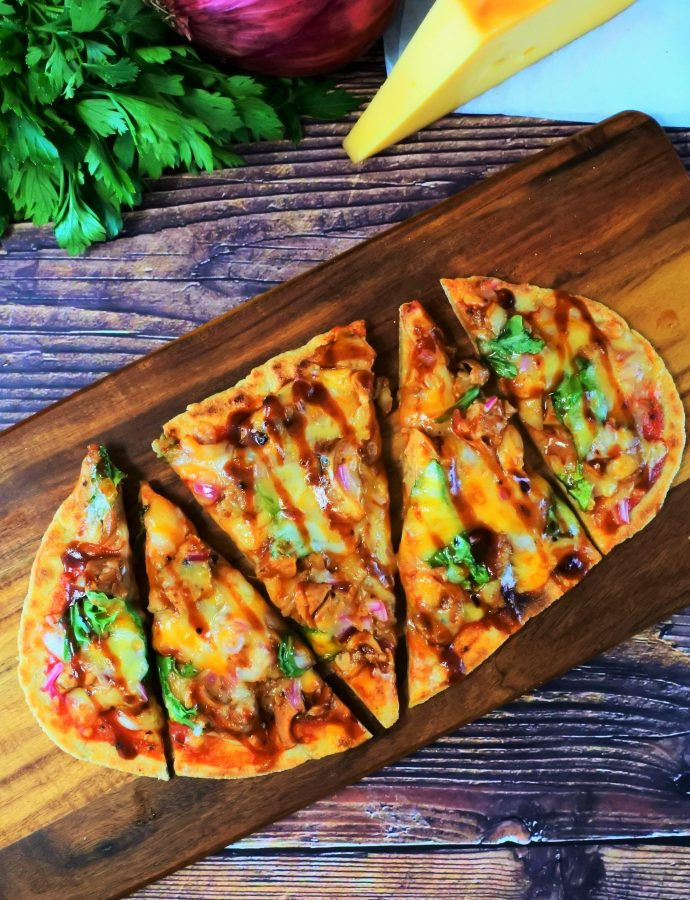 No-Hassle Flatbread for Pizza (100% Whole Wheat)