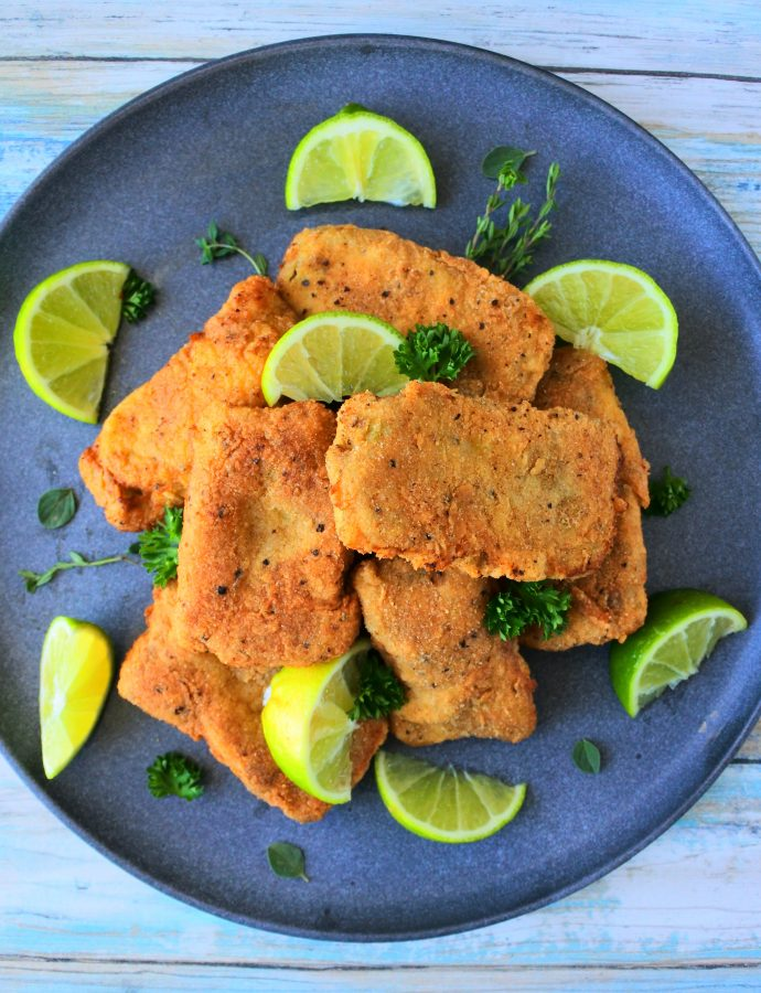 Caribbean Style Fried Fish