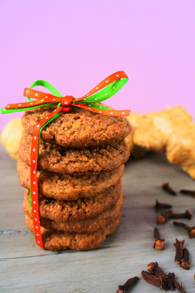 Chewy Gingerbread Cookies Gluten Free Dairy Free Egg Free Kitrusy