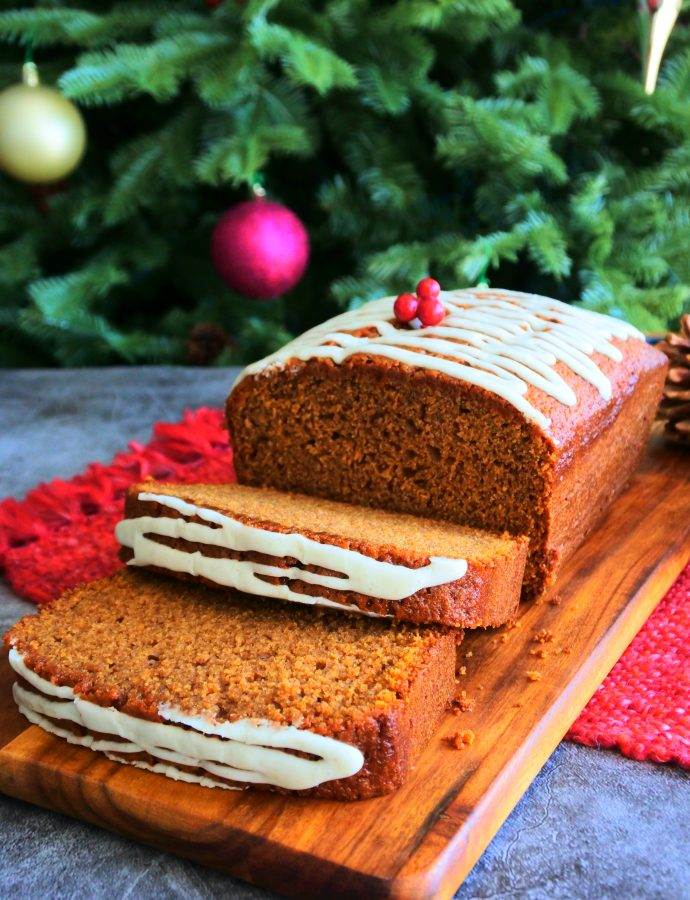 Spiced Gingerbread Loaf