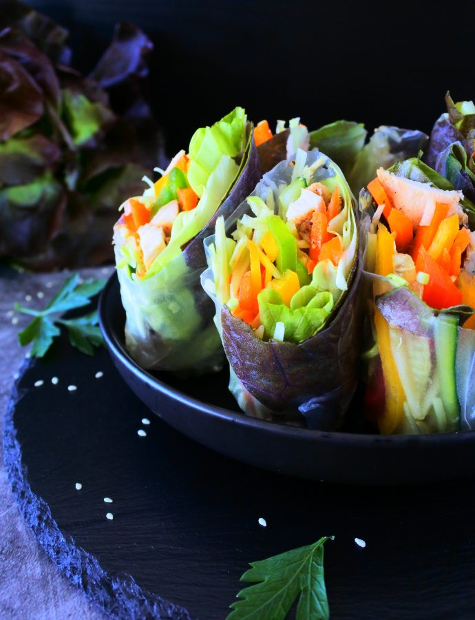 Healthy and Fresh Summer Rolls