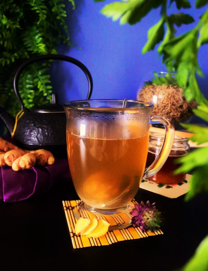 Fresh Ginger Root Tea
