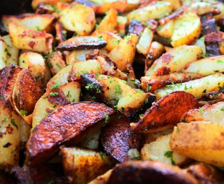 Insanely Easy Skillet Fried Potatoes