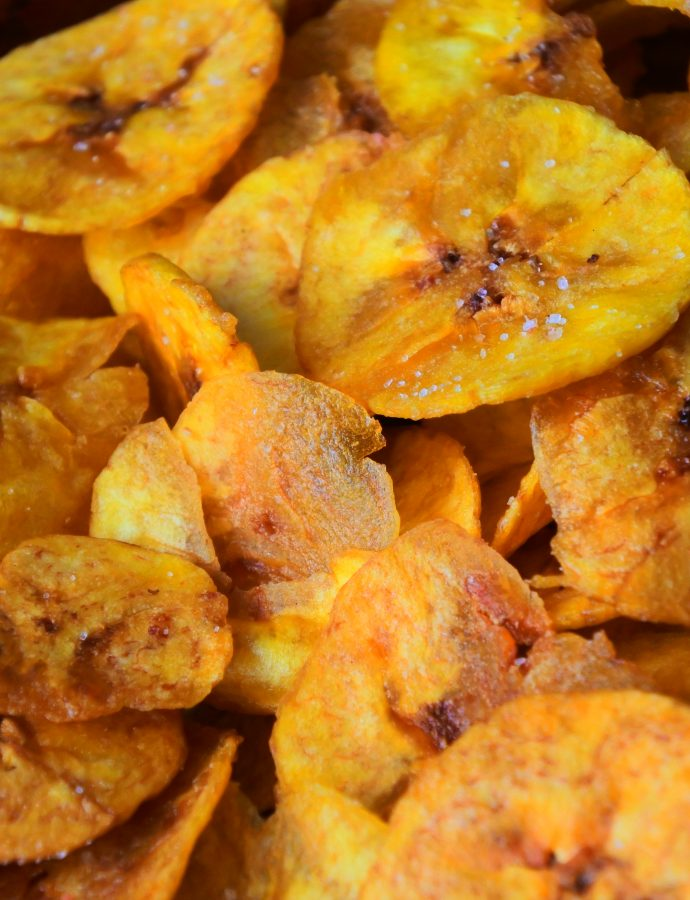 Fried Plantain Chips (Copycat Chifles)