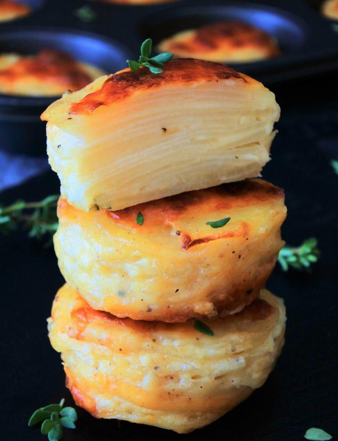 Individual Potatoes Au Gratin