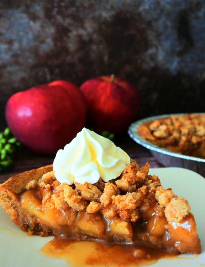 Homemade Apple Pie (Clean Eating, Gluten-Free, Paleo)