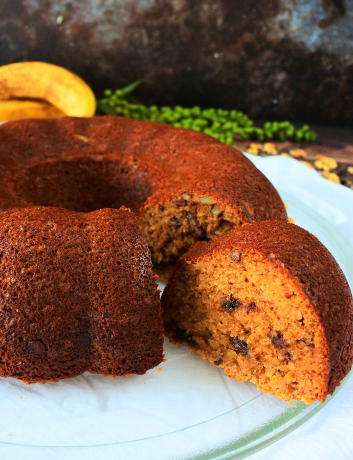 Super Moist Banana Bundt Bread (Gluten-Free)
