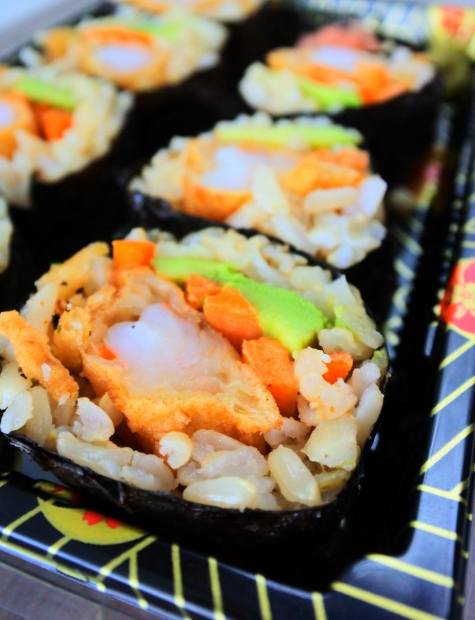 Homemade Brown Rice Sushi