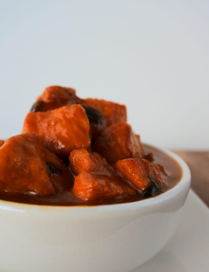 Caribbean Style Stew Chicken