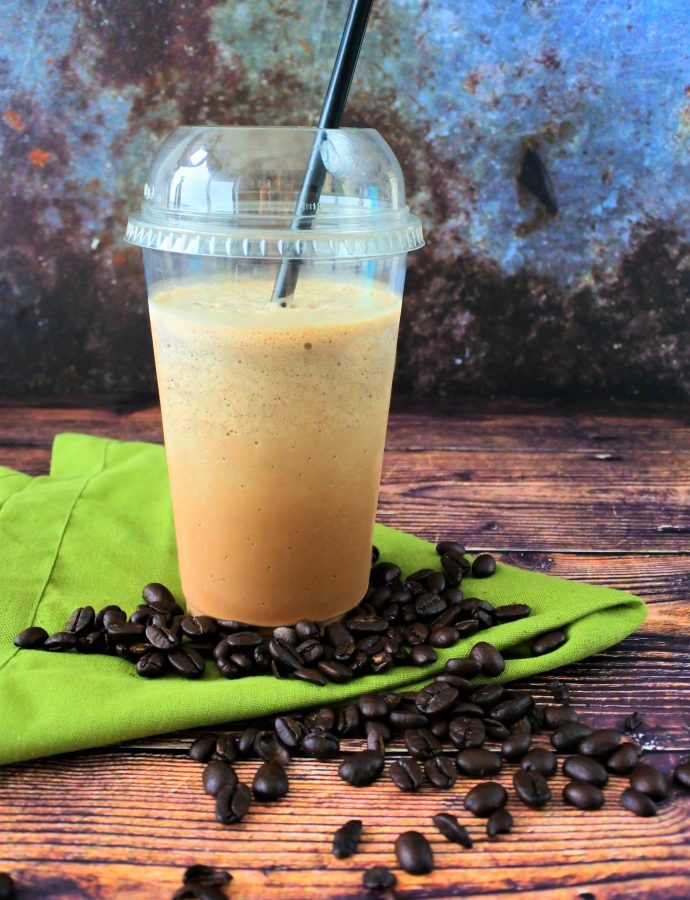 Iced Coffee Frappe (Copycat Coffee-shop)