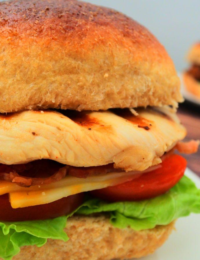 Clean Eat Copycat Chick-fil-A Grilled Sandwich