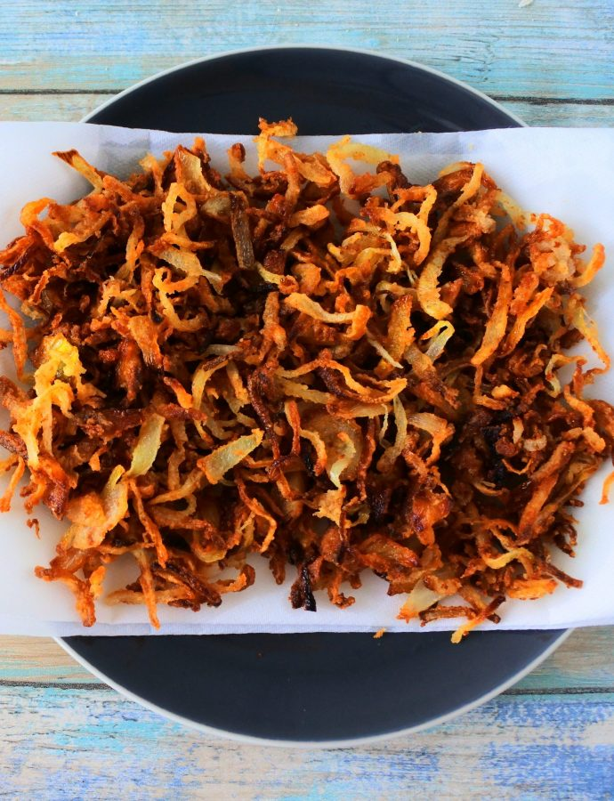Easy Crispy Fried Onions