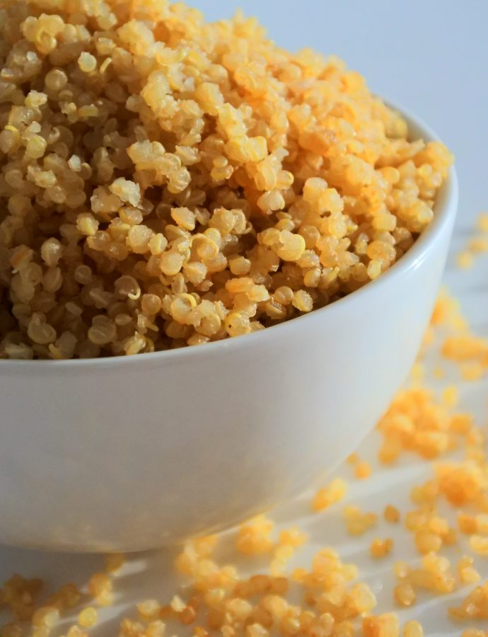 Perfectly Fluffy Quinoa Every Time