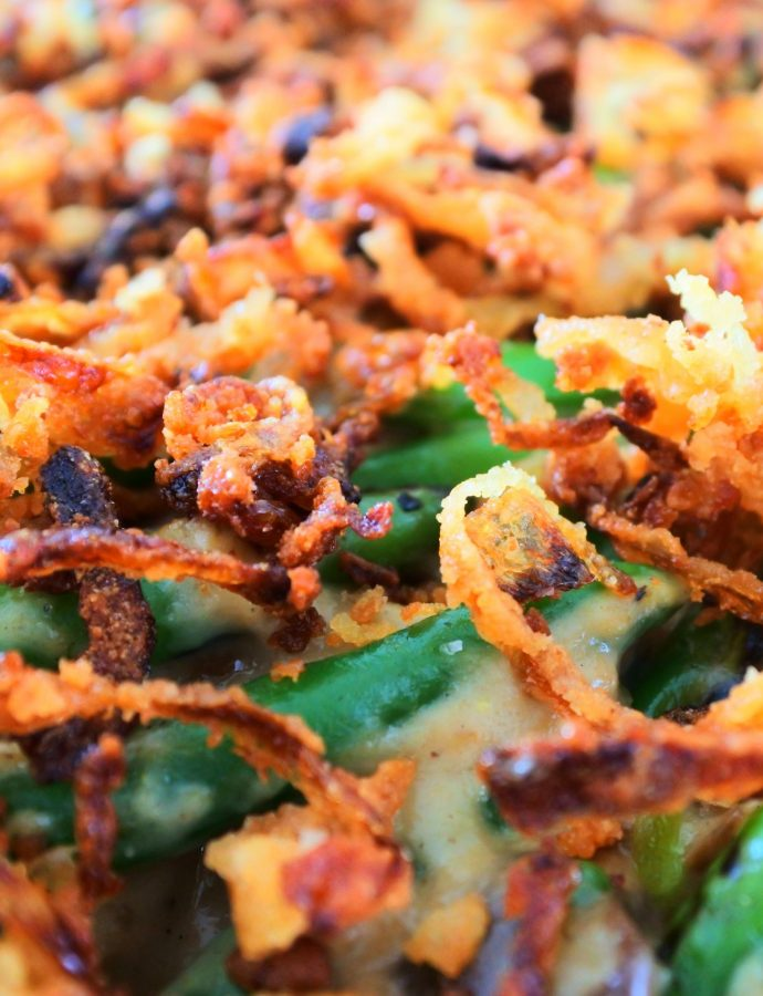 The Best Ever Green Bean Casserole