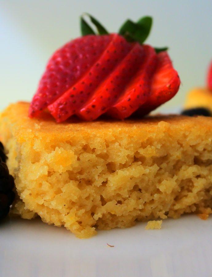 Insanely Moist Honeyed-Lemon Cake