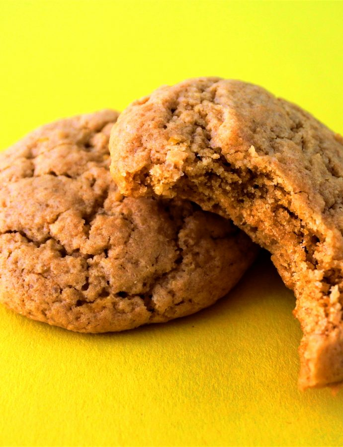 Sweet and Tangy Clean Eat Lemon Cookies