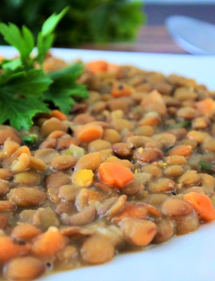 Coconut Lentil Stew