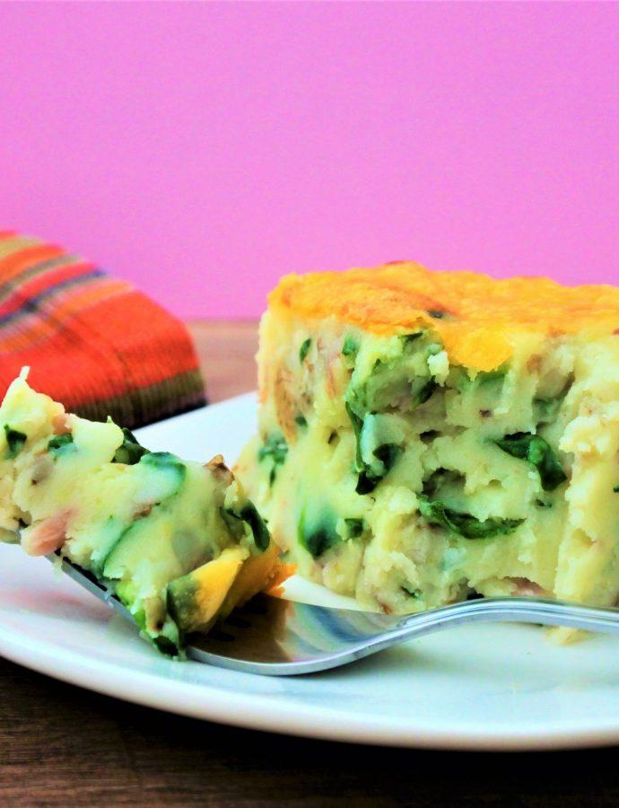 Next Level Mashed Potato Bake