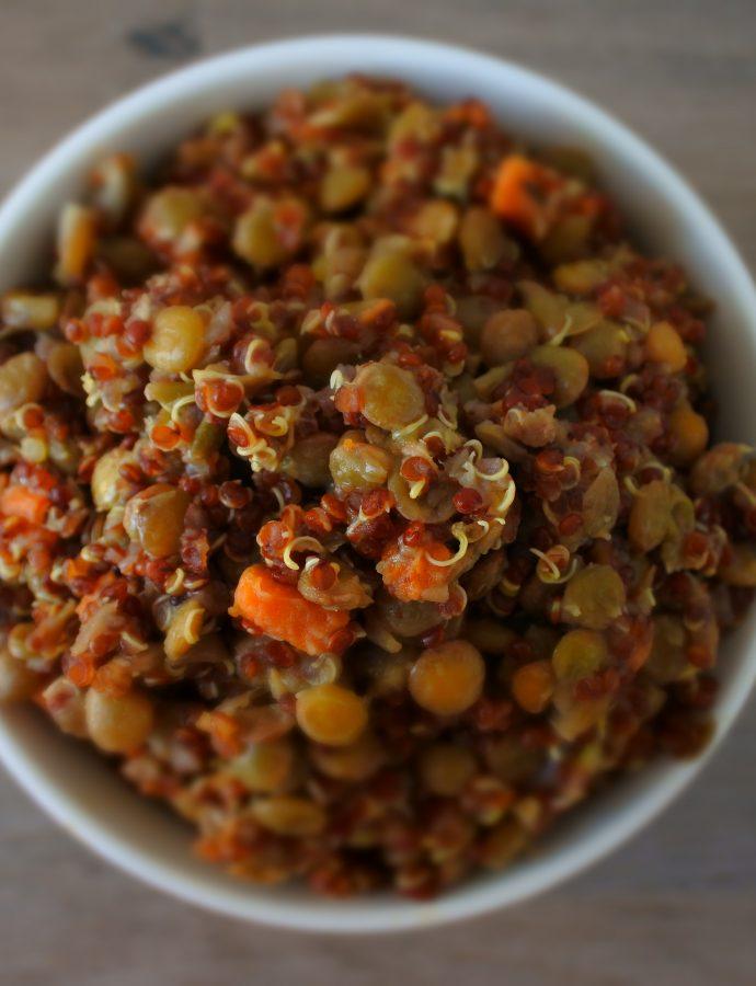 Quinoa and Lentil Pilaf