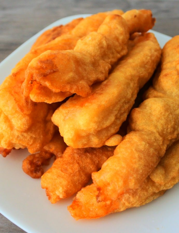 Simple and Clean Batter-Fried Shrimp