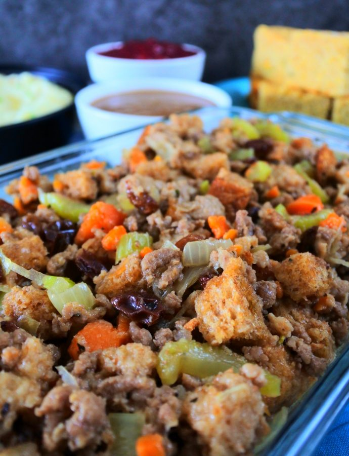 Thanksgiving Meat Stuffing/Dressing
