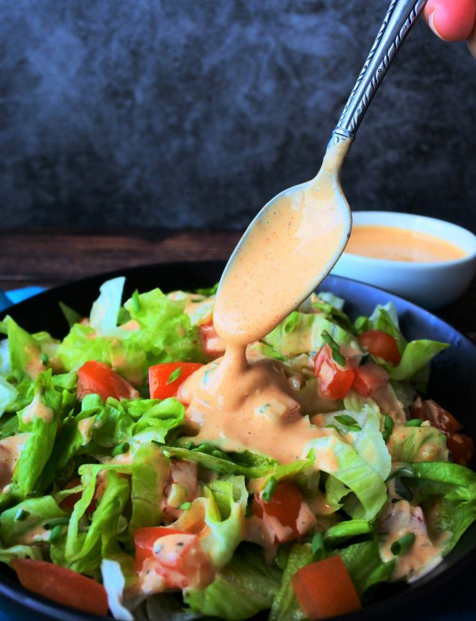 Incredibly Easy Homemade Thousand Island Dressing