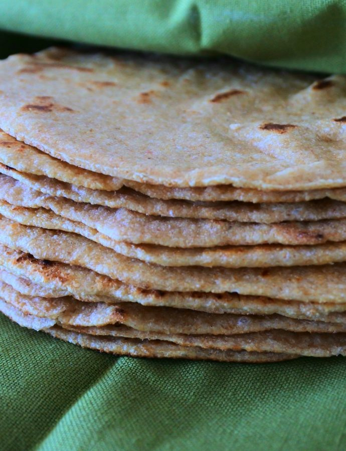 100% Whole Wheat Tortillas